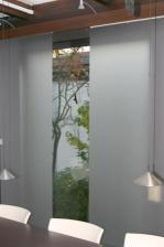 Favorit Schiebevorhang: Räume modern und gleichzeitig effektbetont gestalten EO43